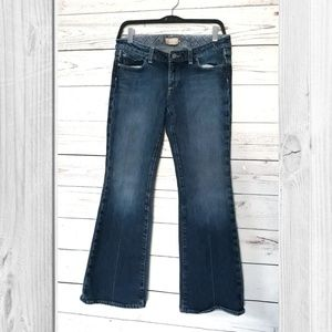 Paige Laurel Canyon Low Rise Boot Cut Jeans 30